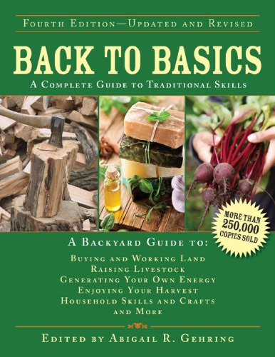 Back to Basics: A Complete Guide to Traditional Skills PDF
